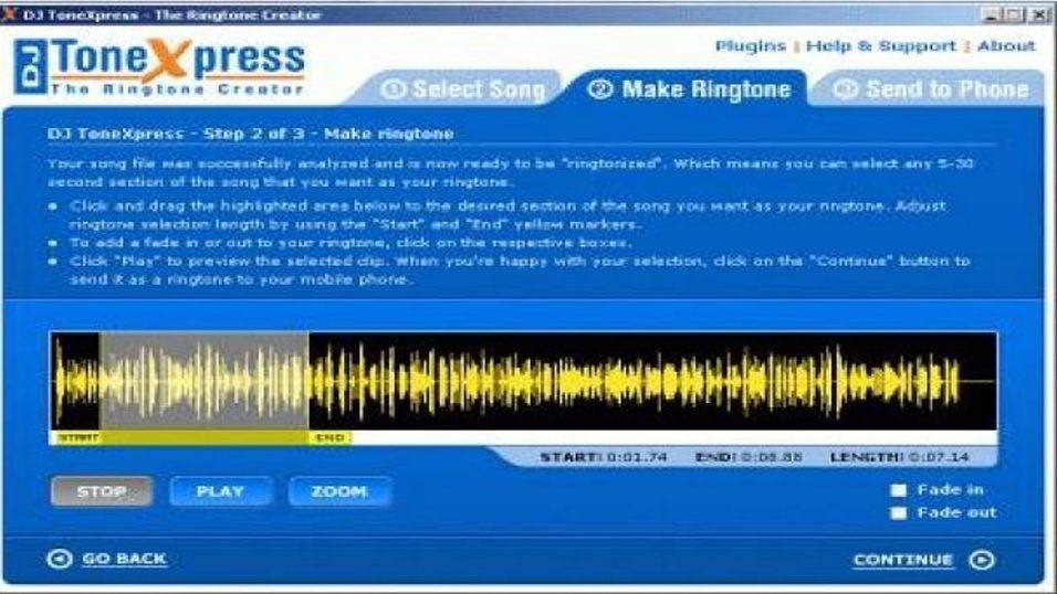 DJ ToneXpress The Ringtone Creator 4.5