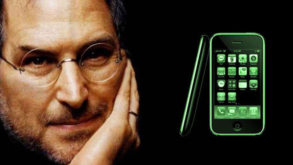 Iphone større enn Sony Ericsson