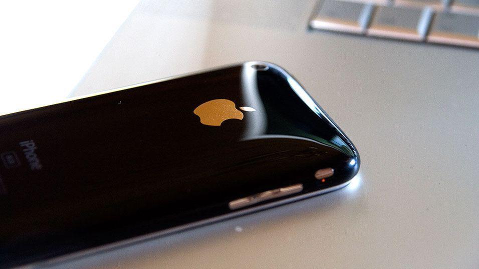 Rakker ned på Iphone