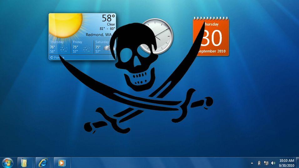 Pirater stjeler fremtidens Windows