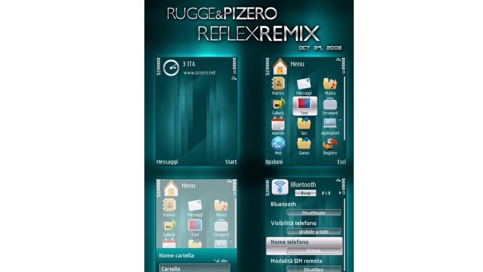 Rugge & PiZero Reflexremix mobiltema
