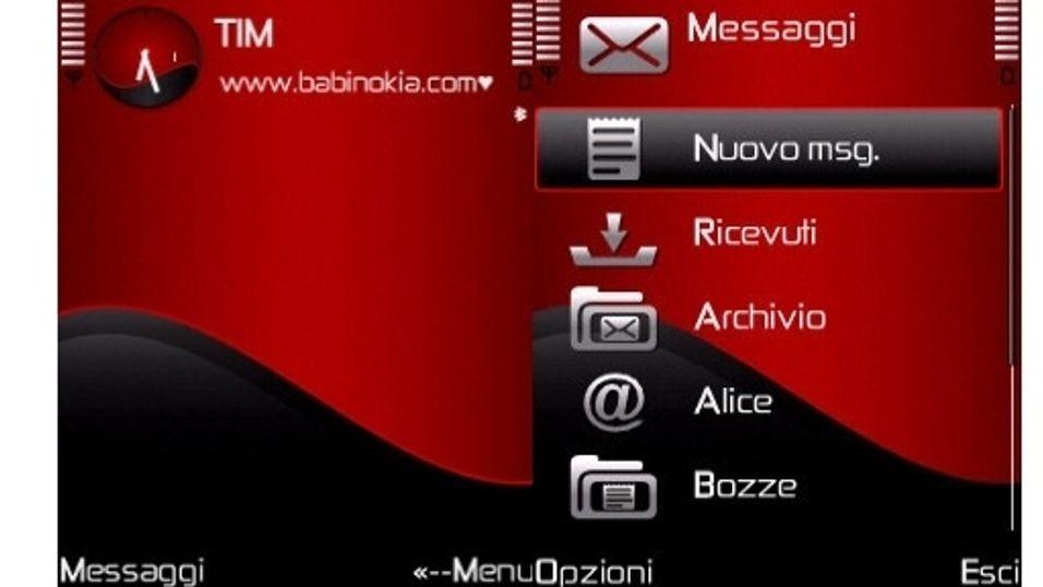 Red wave mobiltema