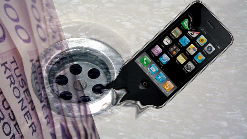 Er Iphone et tapssluk?