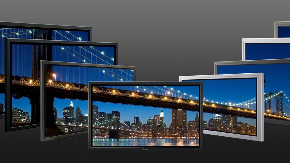 Se Panasonics nye plasmaskjermer