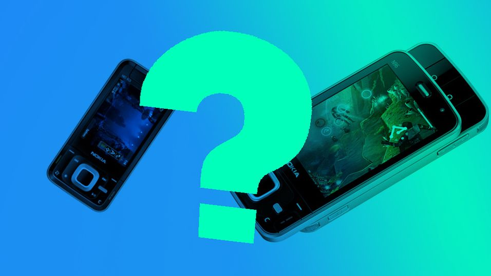 Her er 2009-mobilene til Nokia