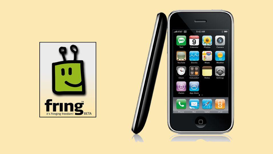 Ringer fra ditt mobilnummer