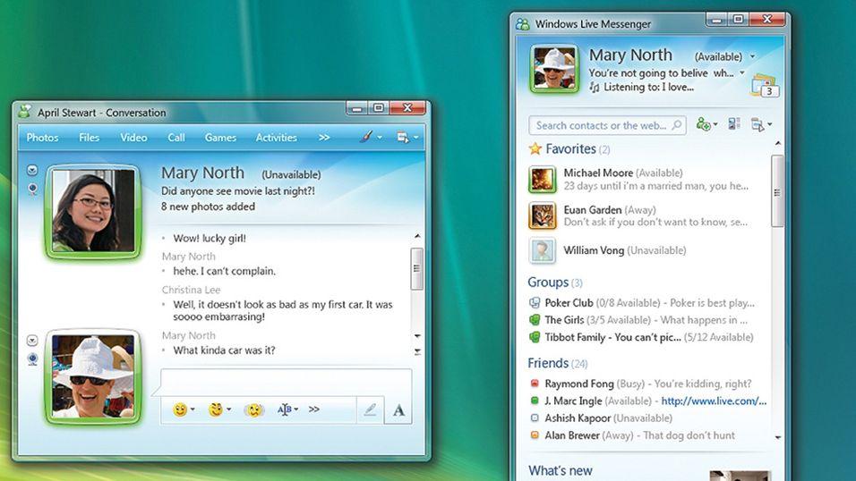 Kraftig oppdatering av Windows Live