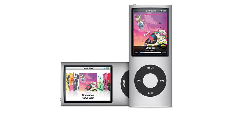 Apple oppdaterer Ipod Nano