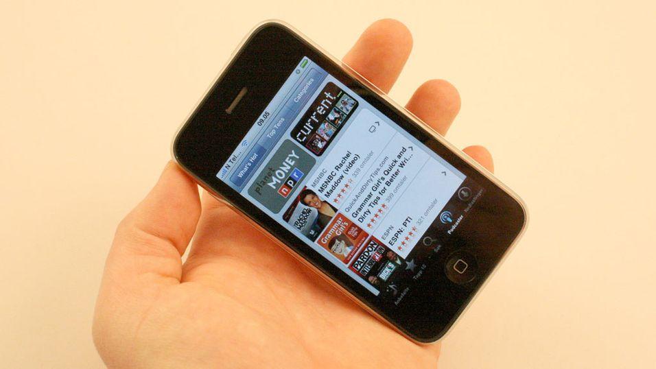 Ny Iphone-programvare på plass