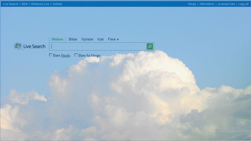 Microsoft løfter søk til skyene?
