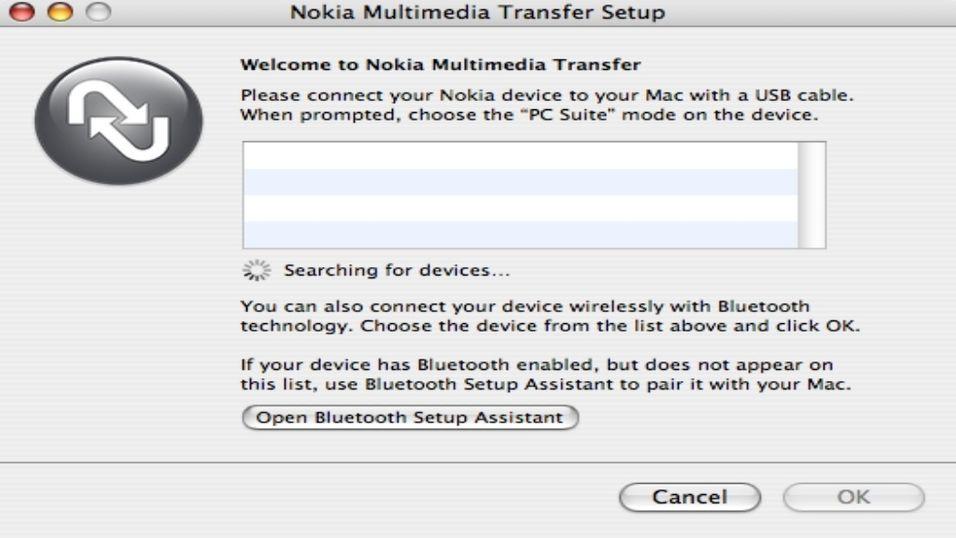 Nokia Multimedia Transfer 1.4 Beta