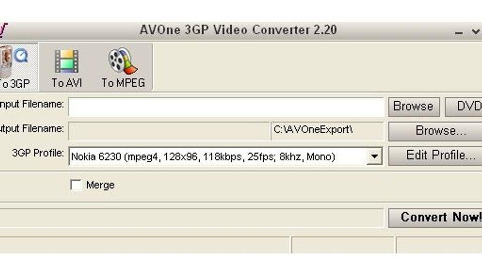 AVOne 3GP Converter 2.38