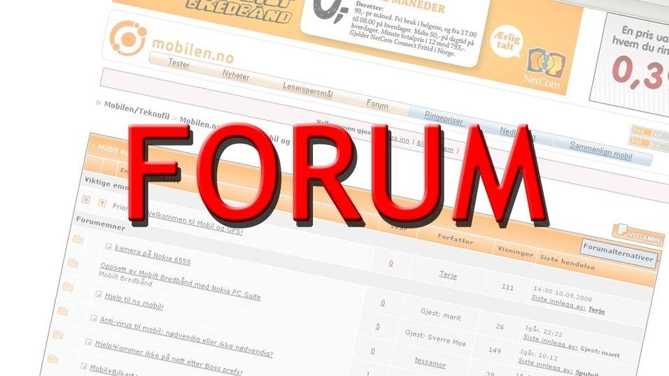Vinneren av forumkonkurransen er kåret