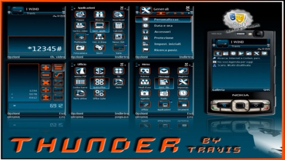 Thunder mobiltema