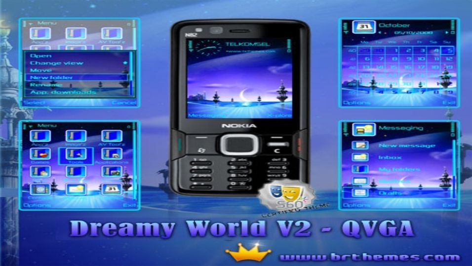 Dreamy World V2 mobiltema