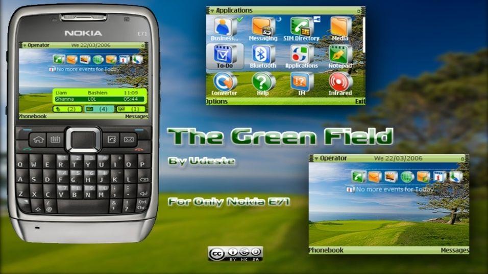 The Green Field mobiltema