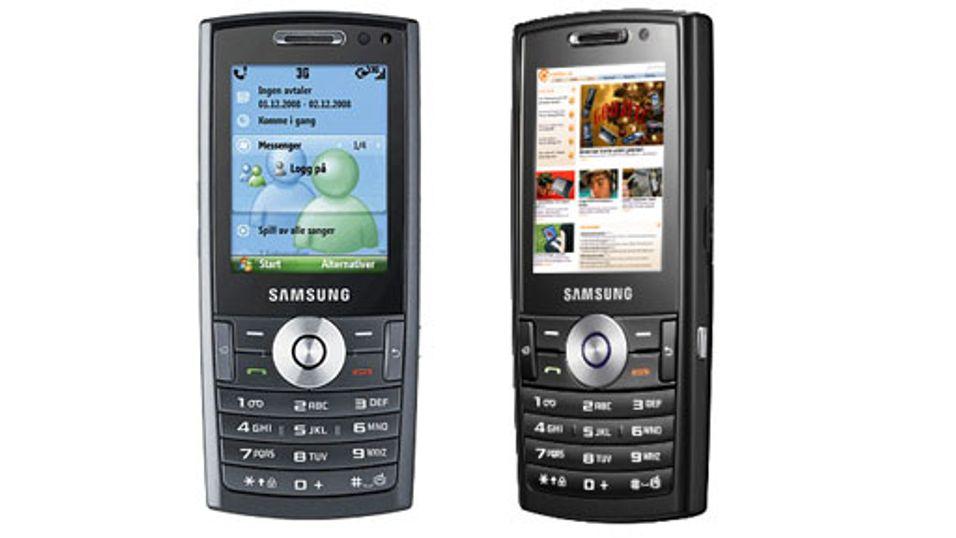 Samsung med Messenger-mobil