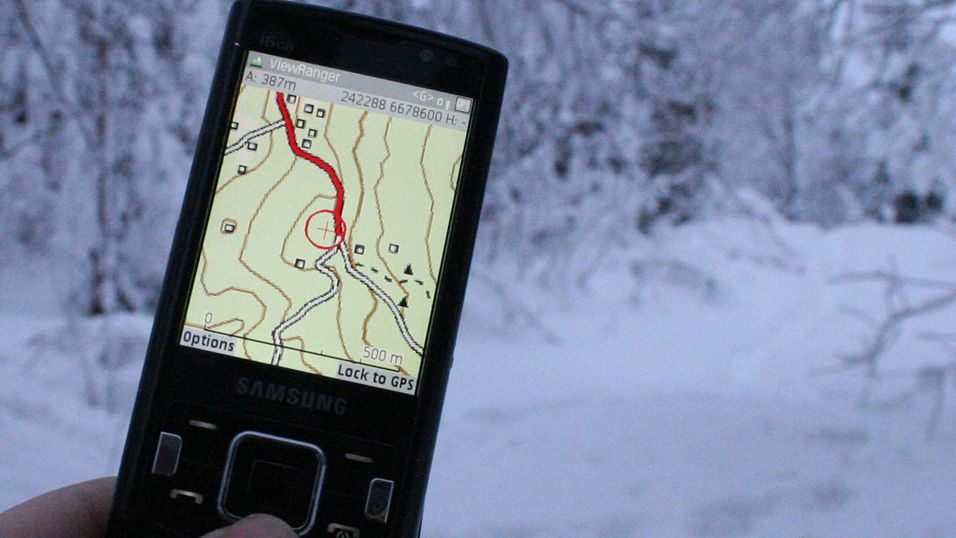 TEST: Test: ViewRanger med norske kart