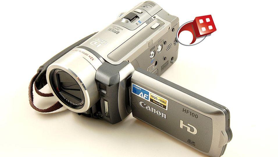 TEST: Test av videokamera: Canon HF100