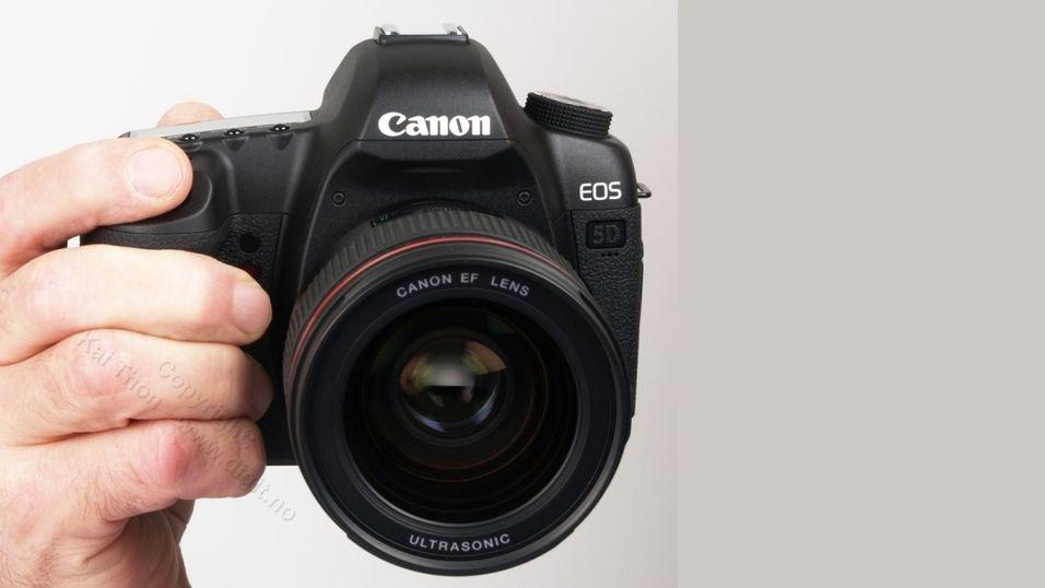 TEST: Test av Canon EOS 5D Mark II