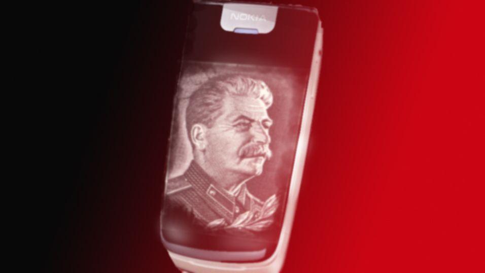 Stalin-mobil skaper hodebry for Nokia