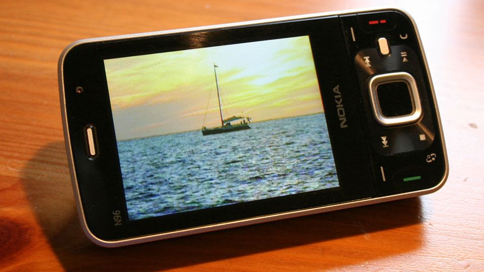 Nokia oppdaterer N96