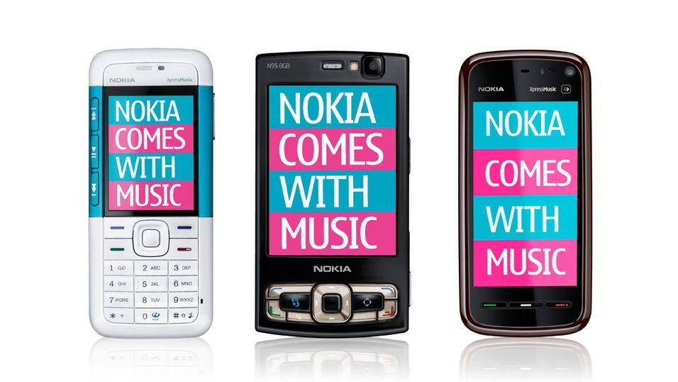 "Laber interesse for Nokias ""gratismusikk"""