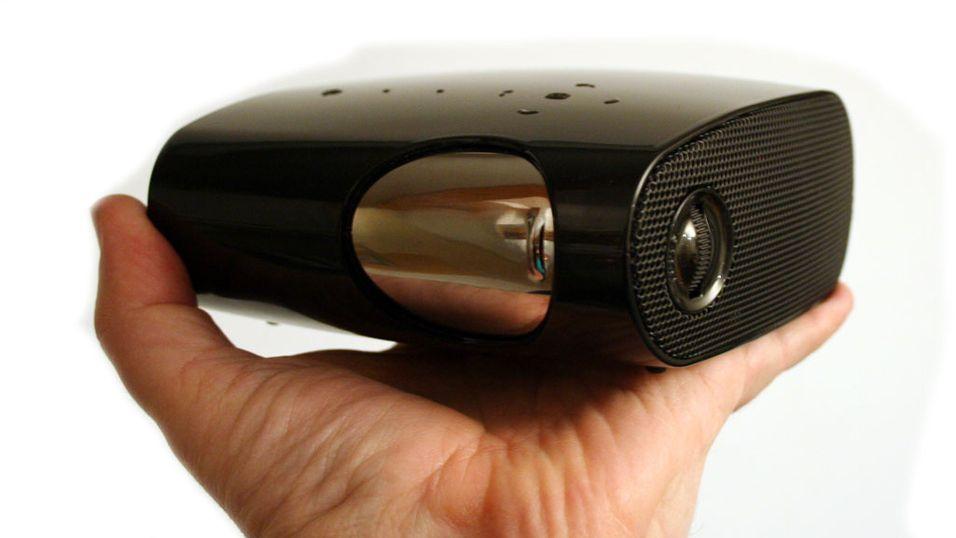 Test: SP-P400B - Lommeprojektor til mobilen
