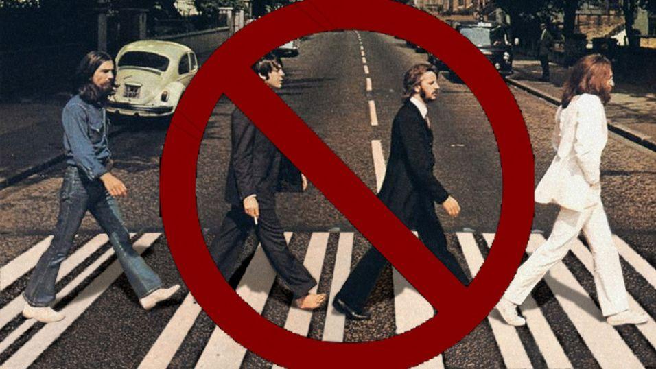 NRK la ut Beatles uten lov