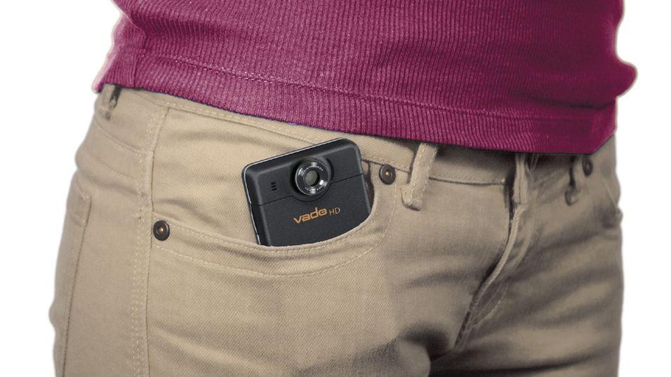 Lommekamera med HD-opptak