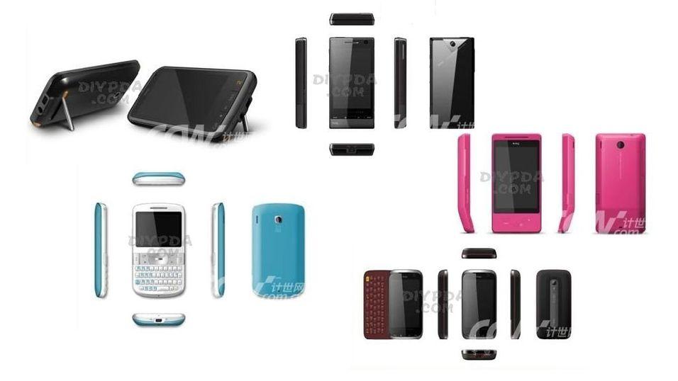 Se 2009-mobilene til HTC