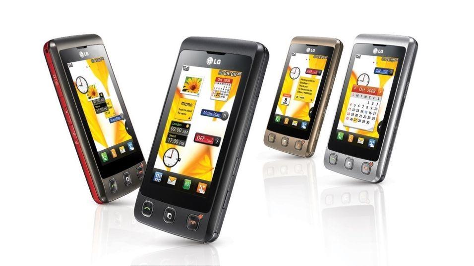TEST: Test: LG KP500 Cookie - Mye touchmobil for pengene