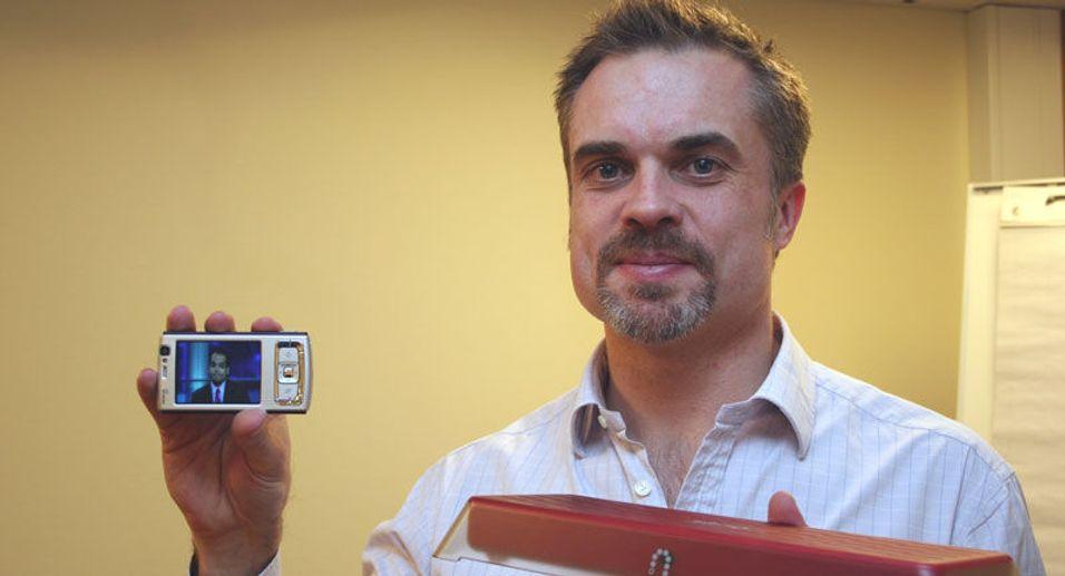 Lanserer SlingPlayer for Iphone