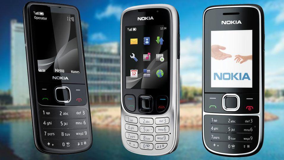 """Nokia med tre nye """"klassikere"""""""