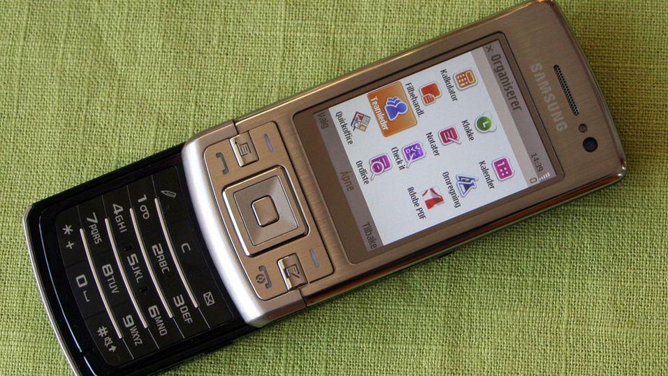 TEST: Samsung L870 - En rimelig smartmobil