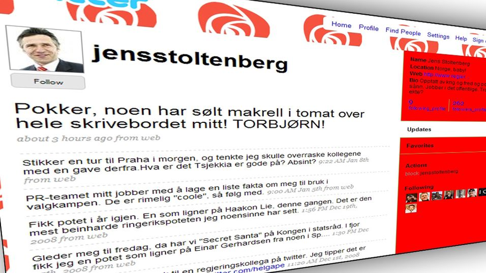 Stoltenberg hyler ut mot Jagland