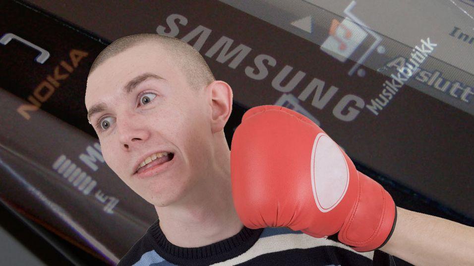 Full krig mellom Nokia og Samsung