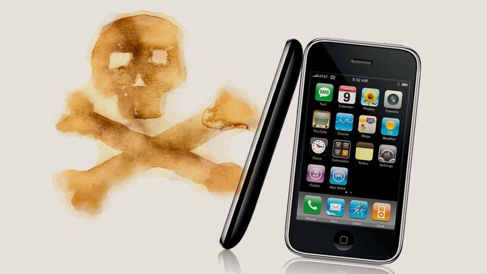 Piratene inntar Iphone