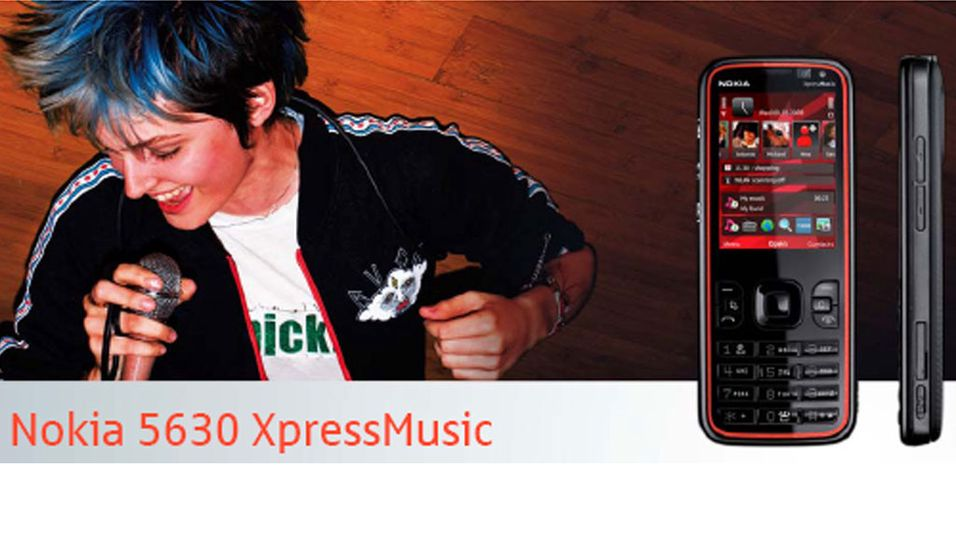 Ny musikkmobil fra Nokia