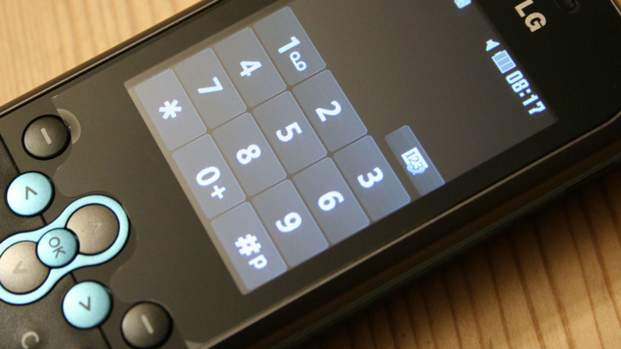 TEST: Test: LG KS360 - Billig med touch og taster - Tek.no