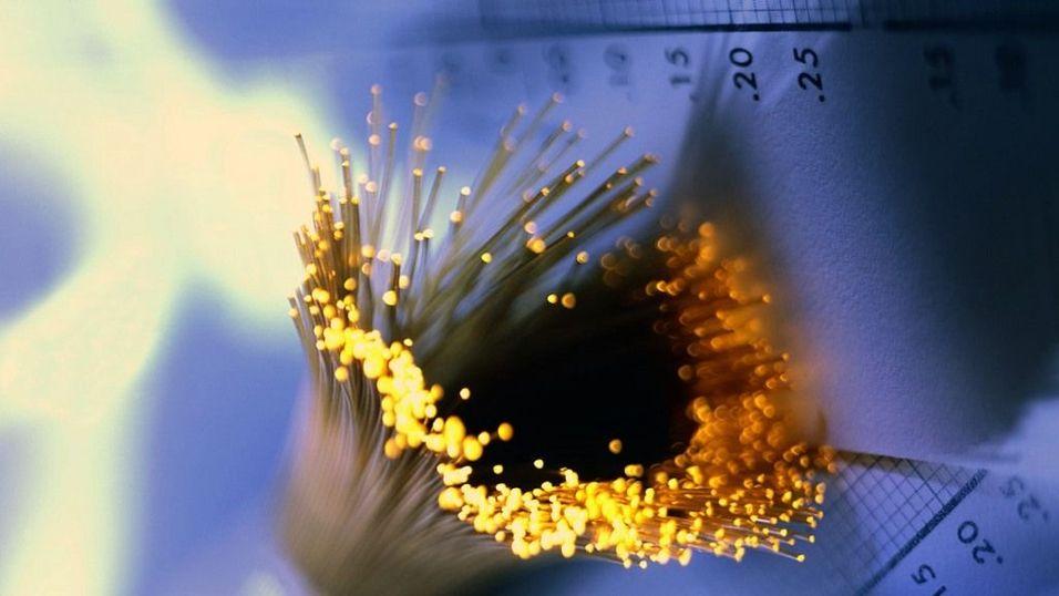 Finanskrisen bremser fiber