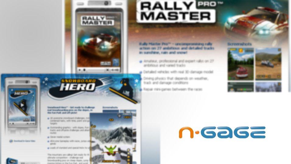 Bedre spill til Nokia N-Gage
