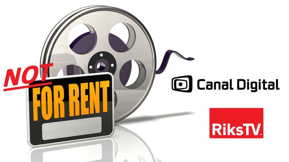 Hvor er filmleie fra RiksTV og Canal Digital?