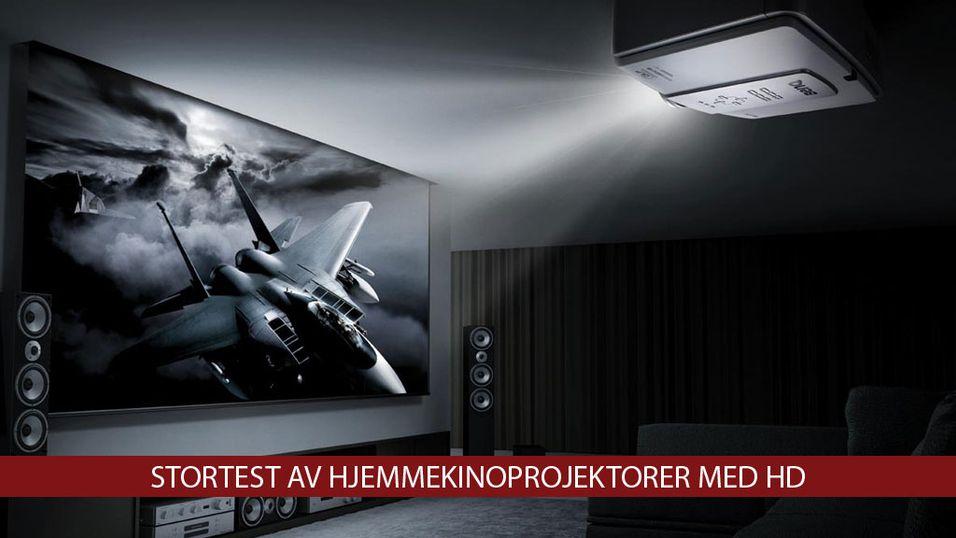 TEST: Stortest av HD-projektorer