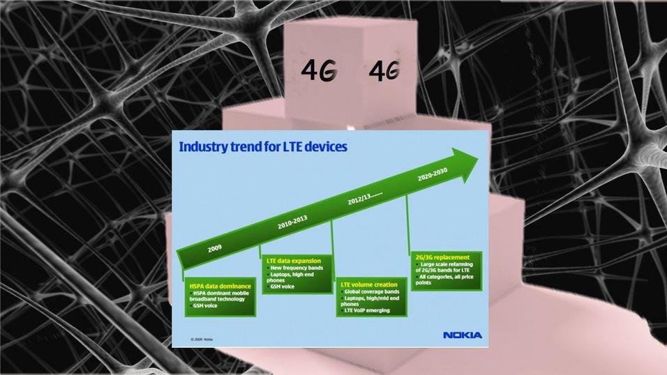 Nokia med 4G-mobiler