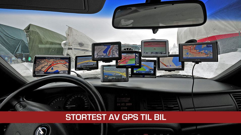TEST: Stortest av GPS for bil