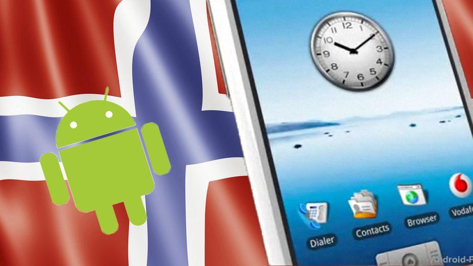 Google-mobil til Norge
