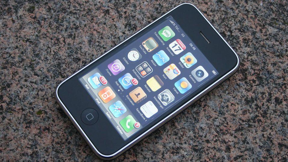 Iphone til Telenor på fredag