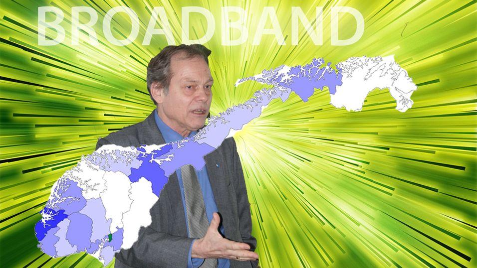 Nordmenn trege på bredbånd
