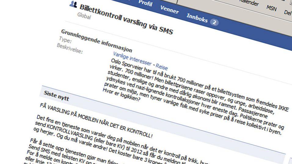 Mobiltjeneste varsler billettkontroller i Oslo